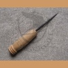 Awl with wooden handle type II - long