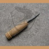 Awl with wooden handle type II - short