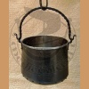 Forged metal cauldron 10L