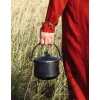 Forged metal cauldron 1L with lid