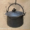 Forged metal cauldron 3L