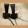 Leather horn holder small u2