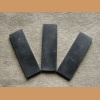 Plate of buffalo horn 126x38x9mm